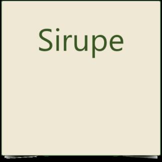 5. Sirupe
