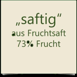 """Fruchtaufstriche """"saftig"""" aus Direktsaft 73%"""