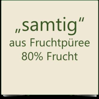 """Fruchtaufstriche """"samtig"""" aus Fruchtpüree 80%"""